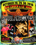 GHOULARDIFEST 2016 (Color Flyer - Flamingos) - Collectible
