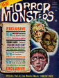 HORROR MONSTERS #10 (1964, some damage) - Magazine