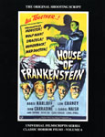 HOUSE OF FRANKENSTEIN (1944) - Magic Image Filmbook