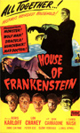 HOUSE OF FRANKENSTEIN (1944/OS Real Art) - 11X17 Poster Repro