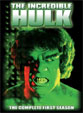 INCREDIBLE HULK (1978/Complete 1st Season) - Used DVD Set
