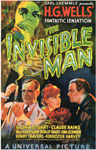 INVISIBLE MAN (1933 Classic) - 11X17 Poster Reproduction