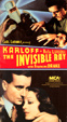 INVISIBLE RAY, THE (1937/Classic Box Art) - Used VHS
