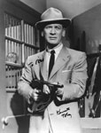 KEN TOBEY (Gun Pointed) - 8X10 Autographed Photo