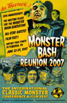 MONSTER BASH REUNION 2007 - 11X17 Poster