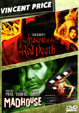 MASQUE OF THE RED DEATH (1964)/MADHOUSE (1974) - DVD