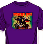 MONSTER BASH (Monsters Bashing!) - Purple T-Shirt