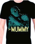 MUMMY (Turquoise/Lon Chaney as Kharis) - T-Shirt