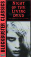 NIGHT OF THE LIVING DEAD (1968/Blockbuster) - Used VHS