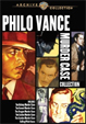 PHILO VANCE MURDER CASE COLLECTION (1930s) - DVD Set
