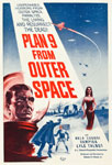 PLAN 9 FROM OUTER SPACE (1959) - 11X17 Poster Reproduction