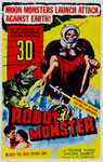 ROBOT MONSTER (1953) - 11X17 Poster Reproduction