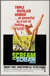 SCREAM AND SCREAM AGAIN (1969) - 11X17 Poster Reproduction