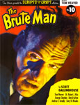 SCRIPTS FROM THE CRYPT #10 (THE BRUTE MAN) - Book