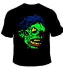 BIG SHOCK MONSTER - Black T-Shirt