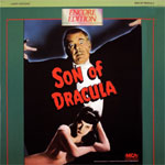 SON OF DRACULA (1943) - Laser Disc