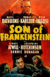 SON OF FRANKENSTEIN (1939/Orange Background) - 11X17 Poster Repr