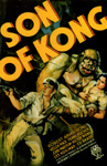 SON OF KONG (1933/Action Color) - 11X17 Poster Reproduction