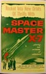 SPACE MASTER X-7 - 14 X 20 Window Card Reproduction