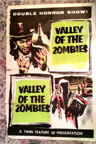 VALLEY OF THE ZOMBIES (1946) - Original One Sheet