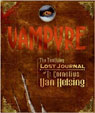 VAMPYRE - THE TERRIFYING LOST JOURNAL - Large  Hardback Book