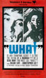 WHAT? (1963) - Used VHS