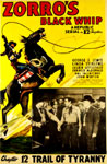 ZORRO'S BLACK WHIP (1944) - 11X17 Poster Reproduction