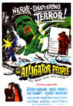 ALLIGATOR PEOPLE - 11X17 Poster Reproduction