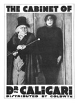 CABINET OF DR. CALIGARI (1919/BW) - 11X17 Reproduction