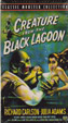 CREATURE FROM THE BLACK LAGOON (1954) - VHS