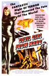 DEVIL GIRL FROM MARS (1954) - 11X17 Poster Reproduction