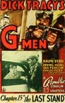 DICK TRACY'S G-MEN (Serial) - 11X17 Poster Reproduction
