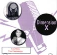 DIMENSION X (Radio Dramas) - CD