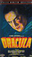 DRACULA (1931/Phillip Glass Soundtrack) - Used VHS