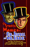 DR. JEKYLL & MR. HYDE (1932/Faces Image) - 11X17 Poster Repro