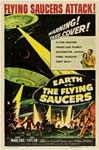 EARTH VS. THE FLYING SAUCERS - 11X17 Poster Reproduction