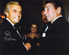 ED NELSON & RONALD REAGAN - Ed Nelson Autograph