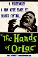 HANDS OF ORLAC (1961) - All Region DVD-R