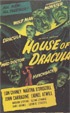 HOUSE OF DRACULA (1945-OS) - 11X17 Poster Reproduction