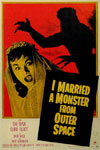 I MARRIED A MONSTER FROM OUTER SPACE (1958) - 11X17 Poster