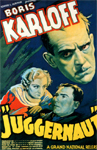 JUGGERNAUT (1936) - 11X17 Poster Reproduction