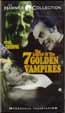 LEGEND OF THE SEVEN GOLDEN VAMPIRES (1974) - VHS