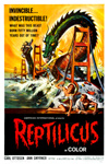 REPTILICUS (1961) - 11X17 Poster Reproduction