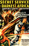 SECRET SERVICE IN DARKEST AFRICA - 11X17 Poster Reproduction
