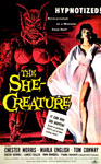 SHE CREATURE, THE (1958) - 11X17 Poster Reproduction