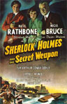 SHERLOCK HOLMES & THE SECRET WEAPON - 11X17 Poster Reproduction