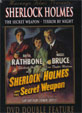 SHERLOCK HOLMES: SECRET WEAPON/TERROR BY NIGHT - DVD