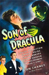 SON OF DRACULA (1943) - 11X17 Poster Reproduction