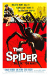 SPIDER, THE (1958) - 11X17 Poster Reproduction