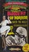 BLOODY PIT OF HORROR (1959) - VHS